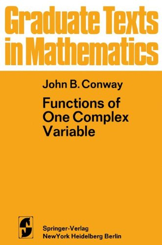 9780387900612: Functions of One Complex Variable (Graduate Texts in Mathematics,)