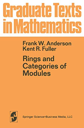 9780387900704: Rings and Categories of Modules (Graduate texts in mathematics)
