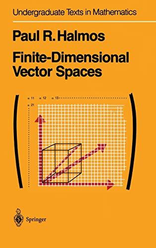 9780387900933: Finite-Dimensional Vector Spaces (Undergraduate Texts in Mathematics)