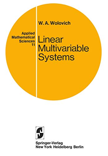 9780387901015: Linear Multivariable Systems (Applied Mathematical Sciences)