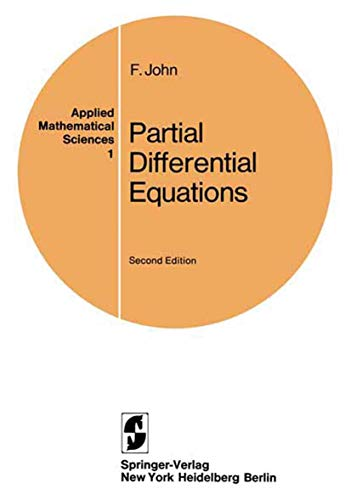 9780387901114: Partial Differential Equations (Applied mathematical sciences)