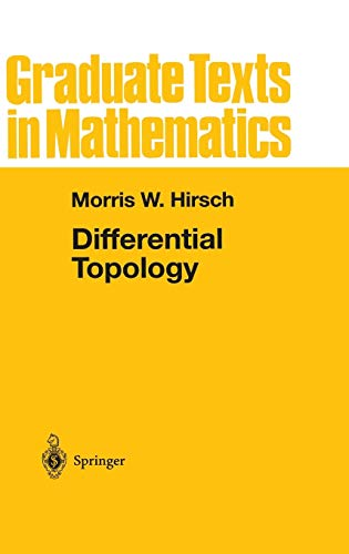 9780387901480: Differential Topology (Graduate Texts in Mathematics)