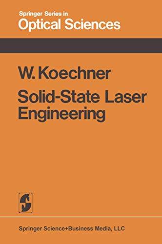 9780387901671: Solid-State Laser Engineering (Springer Series in Optical Sciences; V. 1)