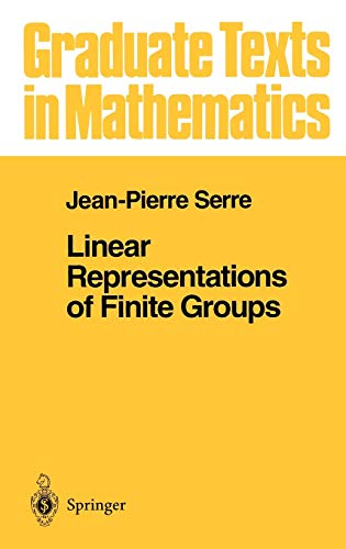 9780387901909: Linear Representations of Finite Groups (Graduate Texts in Mathematics (42)) (v. 42)