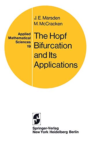 9780387902005: The Hopf Bifurcation and Its Applications (Applied Mathematical Sciences)