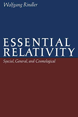 9780387902012: Essential Relativity: Special, General, and Cosmological