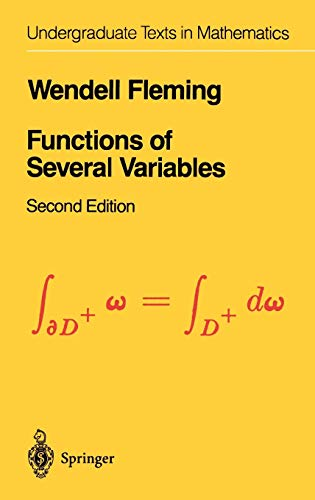 9780387902067: Functions of Several Variables (Undergraduate Texts in Mathematics)