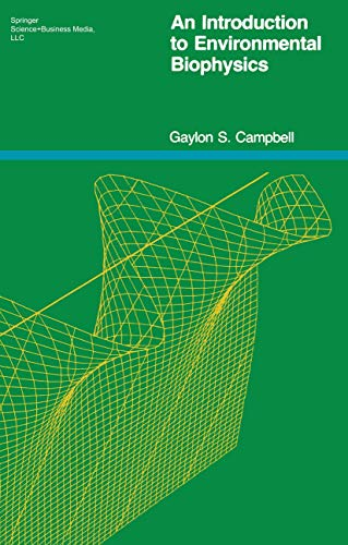 9780387902289: An Introduction to Environmental Biophysics (Heidelberg Science Library)