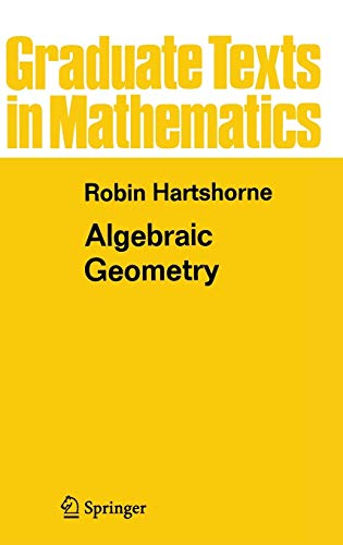 9780387902449: Algebraic Geometry