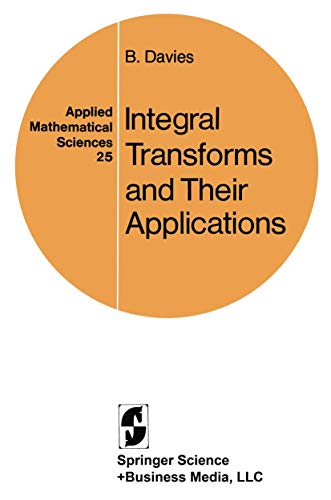9780387903132: Integral Transforms and Their Applications (Applied Mathematical Sciences)