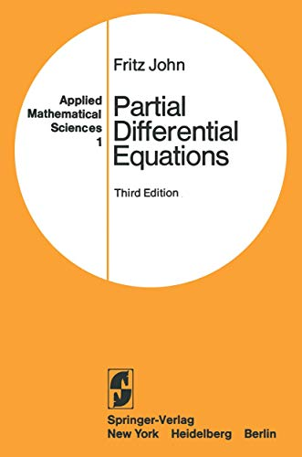 9780387903279: Partial Differential Equations (Applied Mathematical Sciences, Vol. 1)