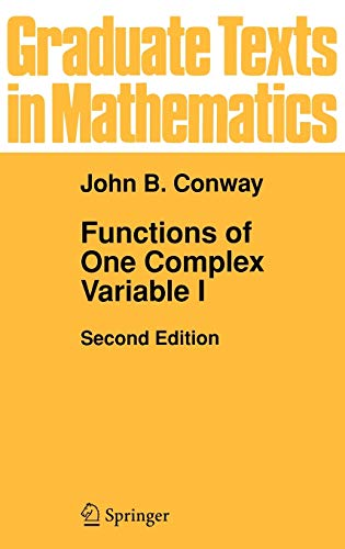 9780387903286: Functions of One Complex Variable (Graduate Texts in Mathematics - Vol 11) (v. 1)