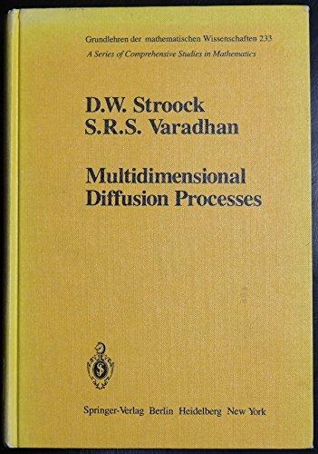 9780387903538: Multidimensional diffusion processes (Grundlehren der mathematischen Wissenschaften)
