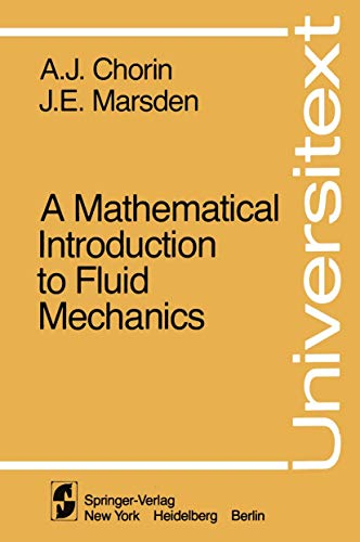 9780387904061: A Mathematical Introduction to Fluid Mechanics (Universitext)