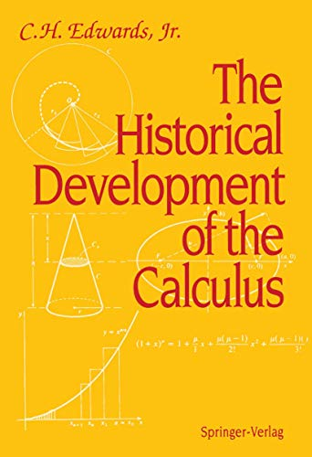 9780387904368: The Historical Development of the Calculus (Springer Study Edition)