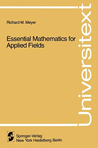 9780387904504: Essential Mathematics for Applied Fields (Universitext)