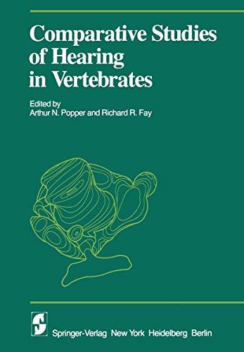 9780387904603: Comparative Studies of Hearing in Vertebrates (Proceedings in Life Sciences)