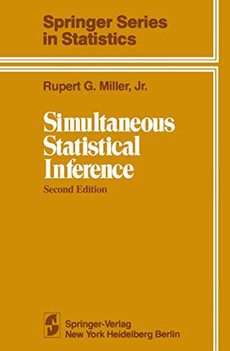 9780387905488: Simultaneous Statistical Inference