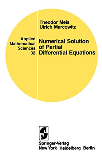 9780387905501: Numerical Solution of Partial Differential Equations (Applied Mathematical Sciences)