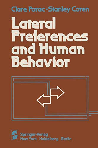 9780387905969: Lateral Preferences and Human Behavior