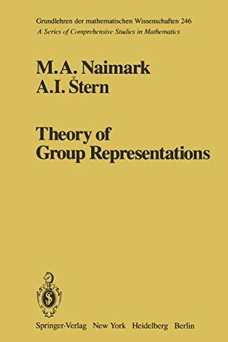 9780387906027: Theory of Group Representations (Grundlehren der mathematischen Wissenschaften)