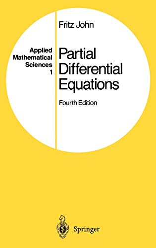 Partial Differential Equations (Applied Mathematical Sciences) (v.: Fritz John