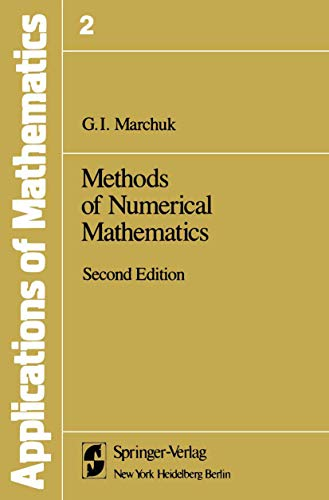 9780387906140: Methods of Numerical Mathematics (Stochastic Modelling and Applied Probability)