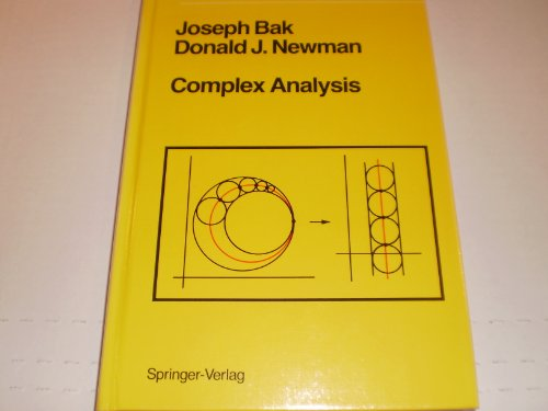 9780387906157: Complex Analysis (Undergraduate texts in mathematics)