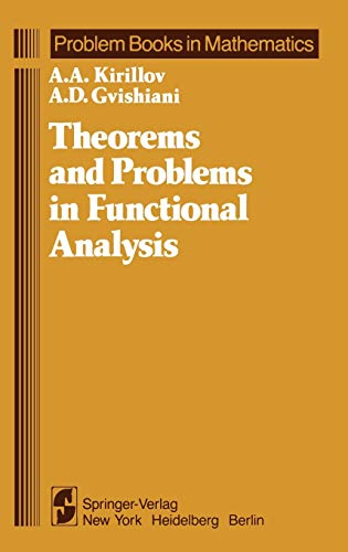 9780387906386: Theorems and Problems in Functional Analysis (Problem Books in Mathematics)