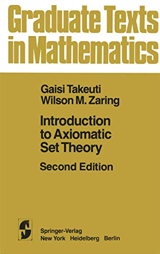 9780387906836: Introduction to Axiomatic Set Theory (Graduate Texts in Mathematics)