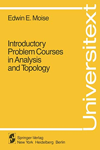 9780387907017: Introductory Problem Courses in Analysis and Topology (Universitext)
