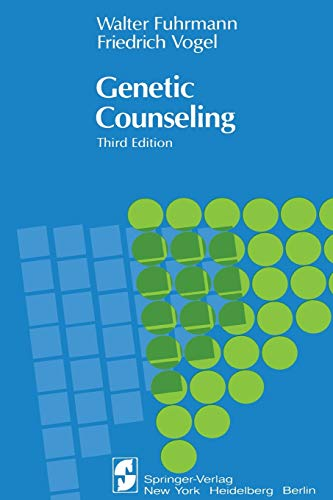 9780387907154: Genetic Counseling