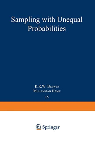 9780387908076: Sampling With Unequal Probabilities (Lecture Notes in Statistics)