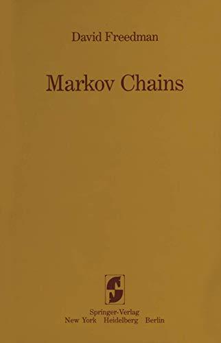 9780387908083: Markov Chains