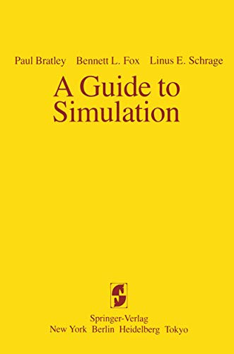 9780387908205: A Guide to Simulation