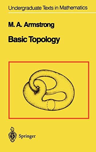 9780387908397: Basic Topology (Undergraduate Texts in Mathematics)