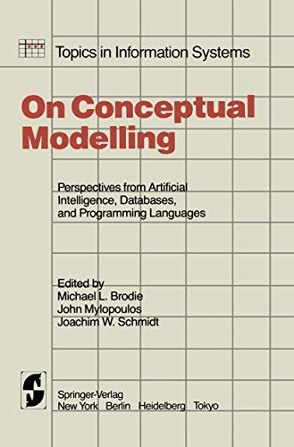 9780387908427: On Conceptual Modelling: Perspectives from Artificial Intelligence, Databases, and Programming Languages