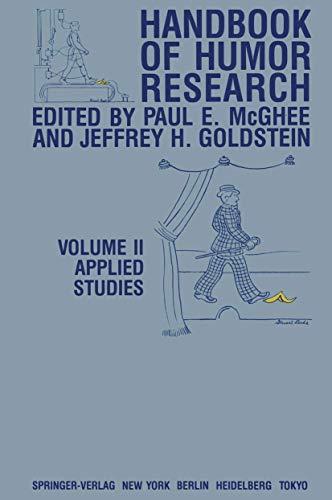 9780387908533: Handbook of Humor Research: Volume II: Applied Studies