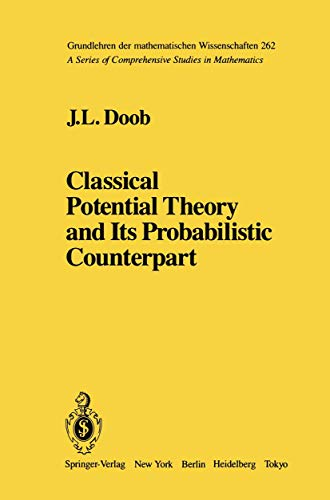 9780387908816: Classical Potential Theory and Its Probabilistic Counterpart