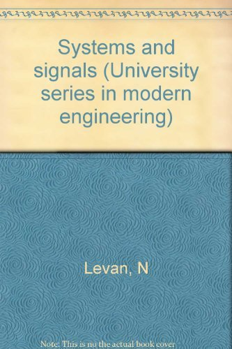 9780387909004: Systems and Signals (University Series in Modern Engineering)