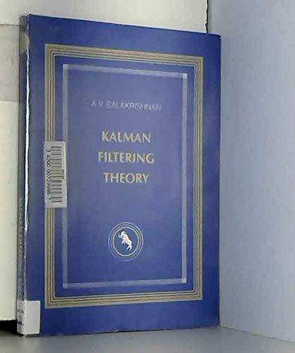 9780387909035: Kalman Filtering Theory