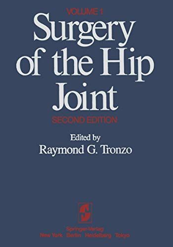 9780387909226: Surgery of the Hip Joint: Volume 1: 001