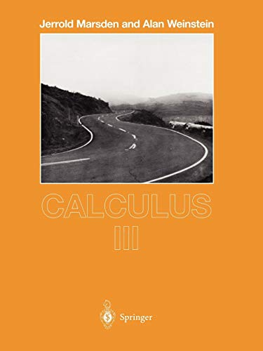 9780387909851: Calculus III (Undergraduate Texts in Mathematics)