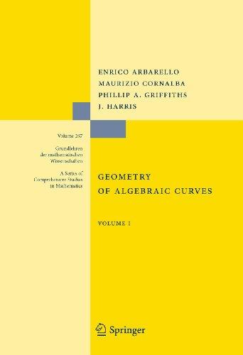 9780387909974: Geometry of Algebraic Curves: Volume I (Grundlehren der mathematischen Wissenschaften)