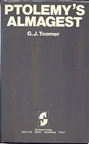9780387912202: Toomer: Ptolemy's Almagest, (Duckworth)