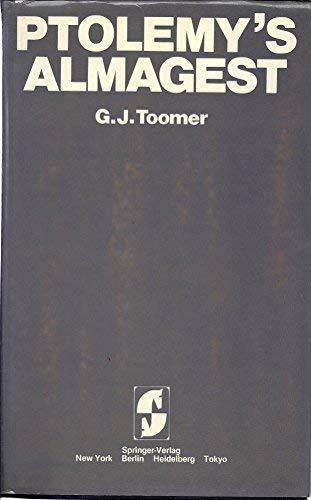 PTOLEMY'S ALMAGEST: Toomer, G. J.