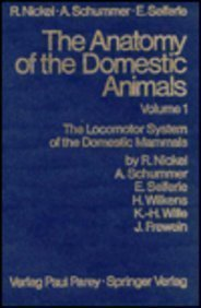 9780387912592: ANATOMY DOMESTIC ANIMALS 1, NICKEL ET AL (ANATOMY OF THE DOMESTIC ANIMALS)