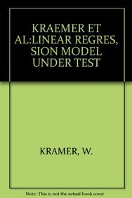 9780387912875: The Linear Regression Model Under Test