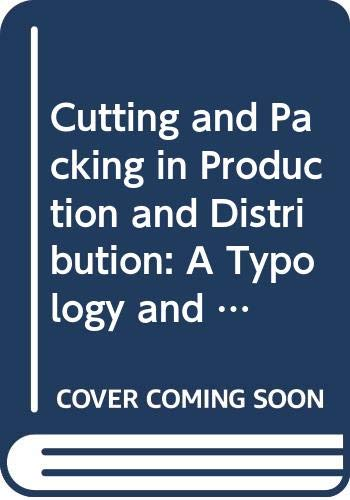 9780387914268: Cutting and Packing in Production and Distribution: A Typology and Bibliography (Contributions to Management Science)