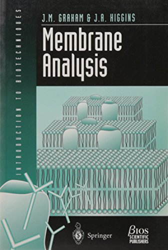 9780387915074: Membrane Analysis (Introduction to Biotechniques Series.)